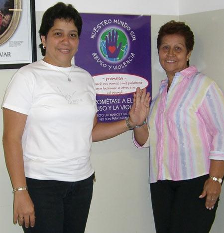 Teachers at Juan de Dios Guamche. Chacao,Venezuela. September 2006.