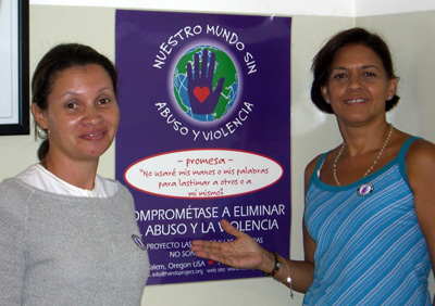 Teachers in Venezuela share the vision of taking Pledges around the world!