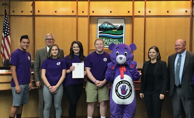 20th Annual Hands & Words Are Not For Hurting Week Proclamation
